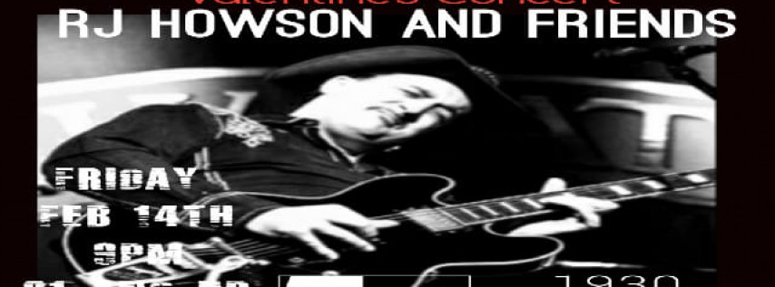 Valentines Party W RJ Howson And Friends At FIVE O