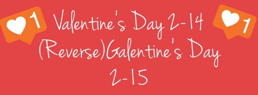 Valentine's Day/ Reverse Galentine's Day Mixers!