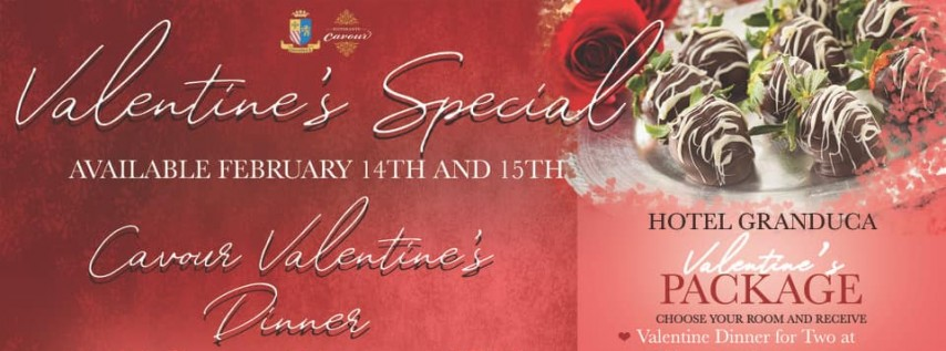 Valentine's at Hotel Granduca