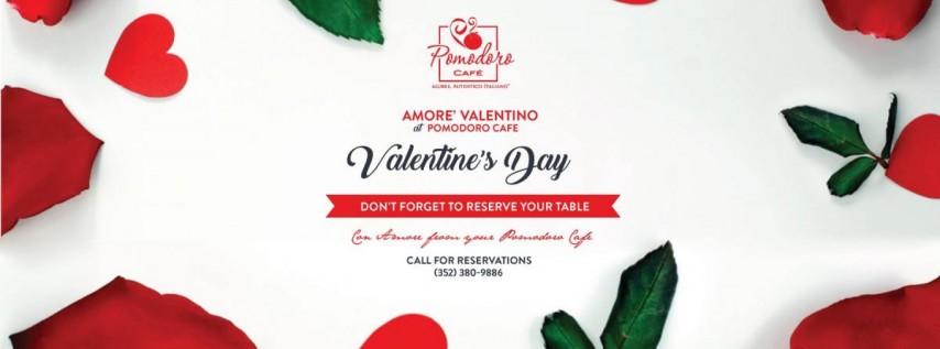 Valentine's Day at Pomodoro Cafe