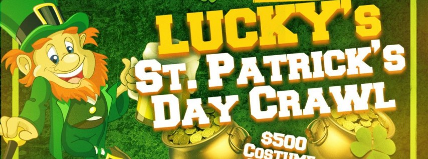 Lucky's St. Patrick's Day Crawl - St Petersburg