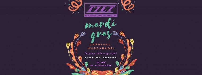 Mardi Gras Carnival Mascarade!