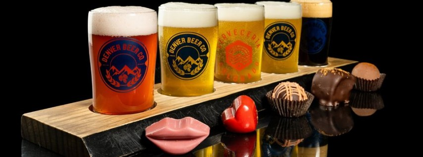 Denver Beer Co's Valentine's Day Beer & Chocolate Pairing!