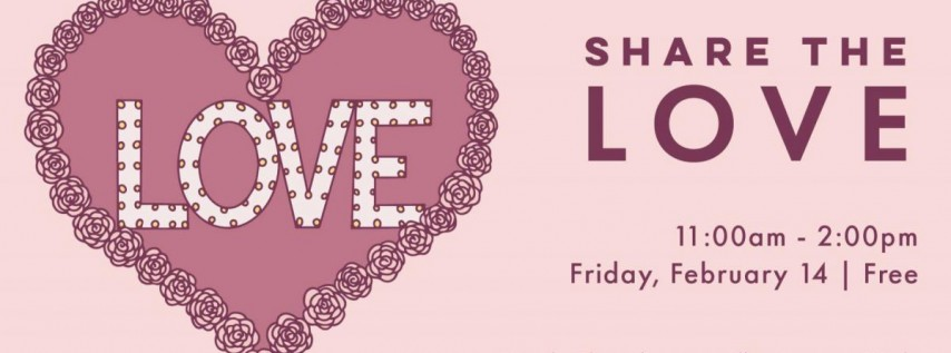Share the Love at Armature Works