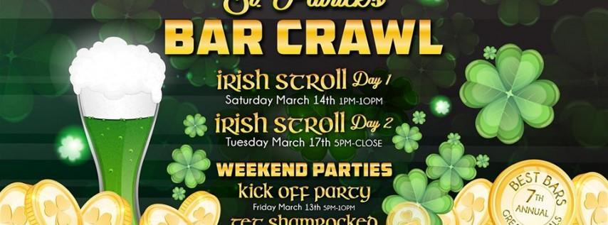 Barcrawls.com Presents Austin St. Patrick's Day Bar Crawl Day 1
