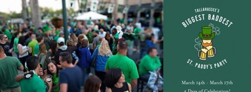 Tallahassee's Biggest Baddest St. Paddy's Party a The Brass Tap