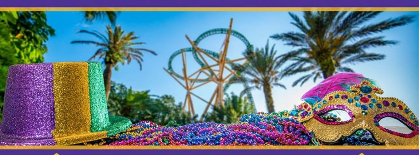 Mardi Gras Weekend at Busch Gardens Tampa Bay!