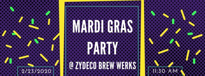 Mardi Gras Party - Hosted by USF