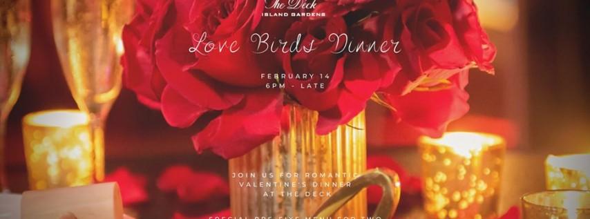 Lovebirds Dinner   Valentines Day