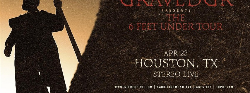 GRAVEDGR - Stereo Live Houston