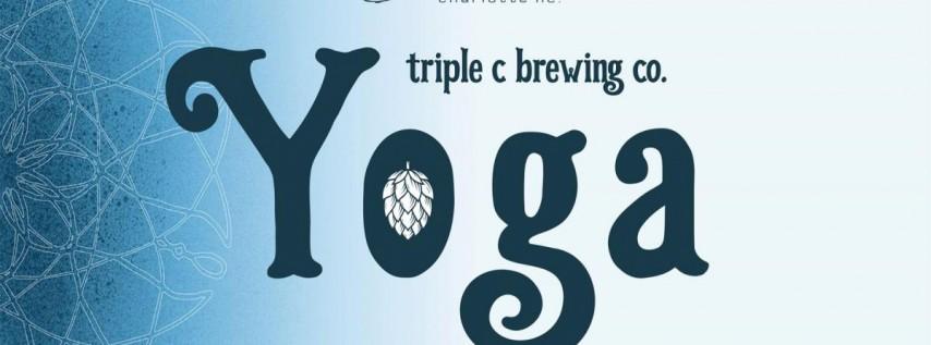Triple C Beer Yoga