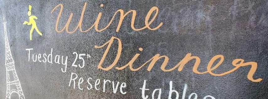 February Wine Dinner