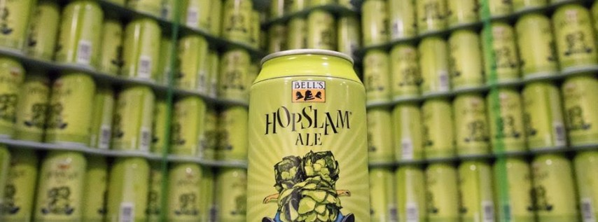 Hopslam is my Valentine! Tapping & Pizza Party