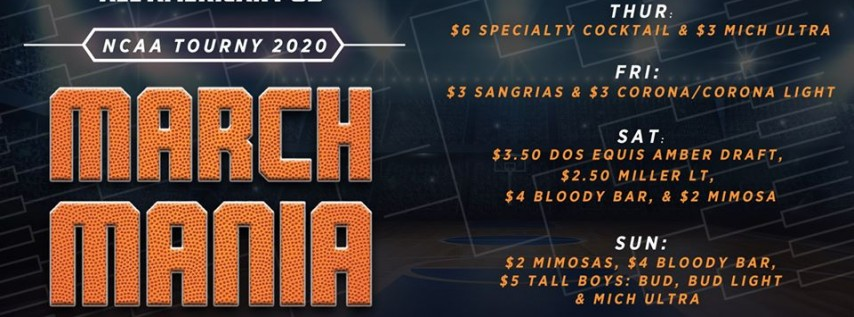 March Mania at All American Pub