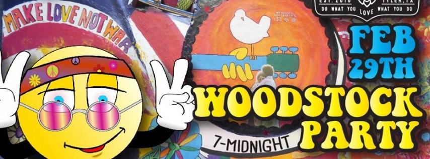 ETX's Groovy Woodstock Party