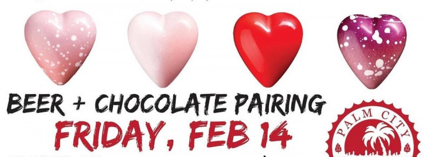 Valentine's Chocolate and Beer Pairing