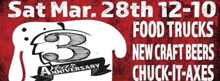 Scotty's Bierwerks 3 Year Anniversary