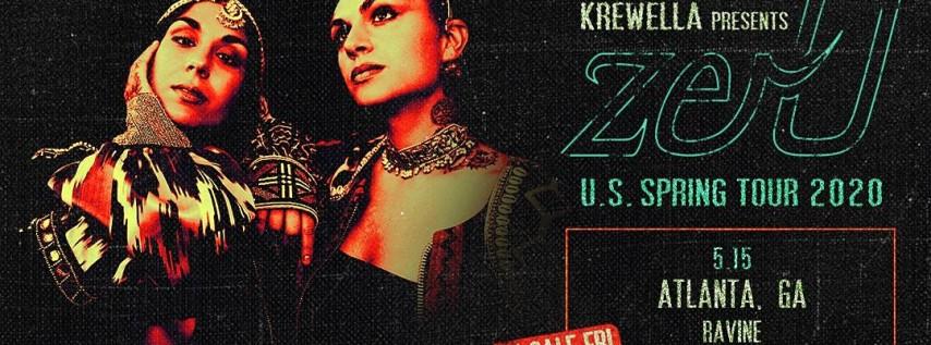 Krewella Presents: zer0 US Spring Tour at Ravine