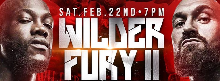 Wilder vs Fury II Watch Party | 2.22