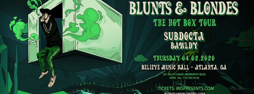 Blunts & Blondes | IRIS ESP101 Learn to Believe | Thursday April 2