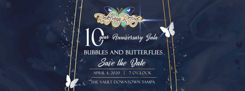 10th Anniversary Bubbles and Butterflies Gala