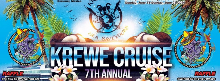 Krewe of Sea SaveYours Cruise Social and Raffle Give Away