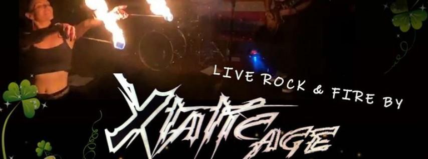 St. Patrick's Day Bike Nite! Live Rock & Fire By: Xtatic Age!