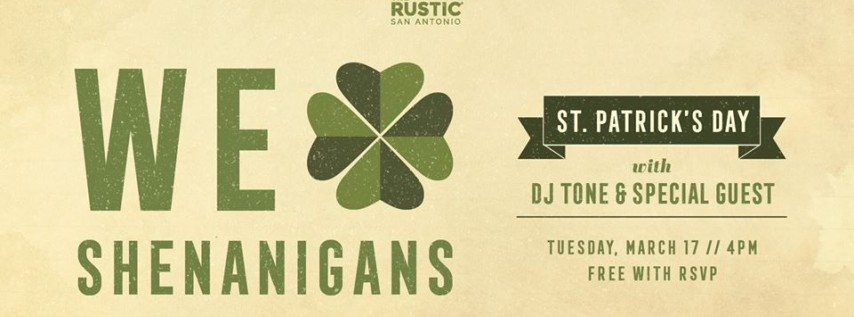 St Patrick's Day | The Rustic