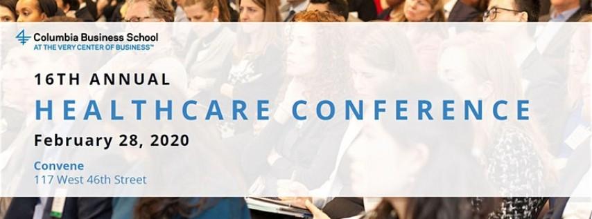 16th Annual Columbia Healthcare Conference