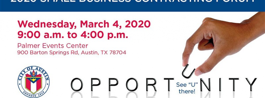 2020 Small Business Contracting Forum