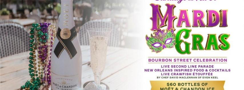 Mardi Gras Bourbon Street Celebration at The Wharf Fort Lauderdale
