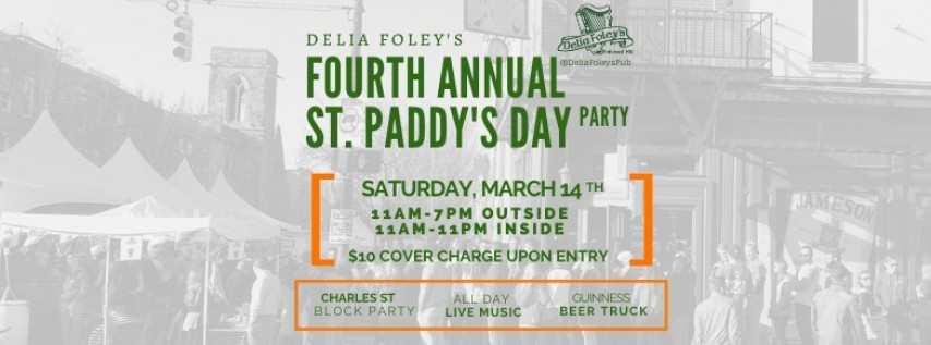 Fourth Annual St. Paddy's Day Party