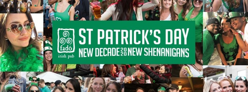 St Patrick's Day 2020 at Fado Midtown