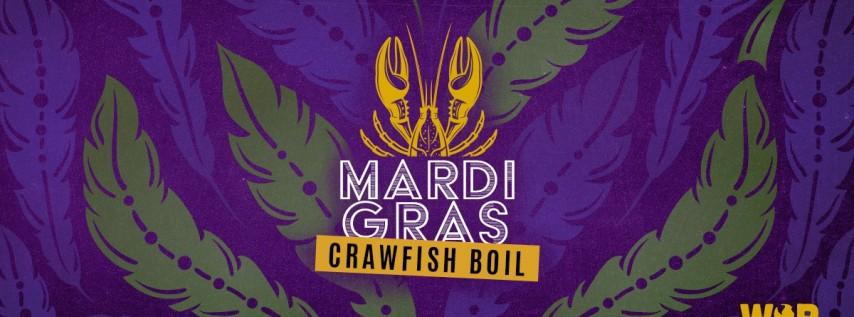 Mardi Gras Crawfish Boil