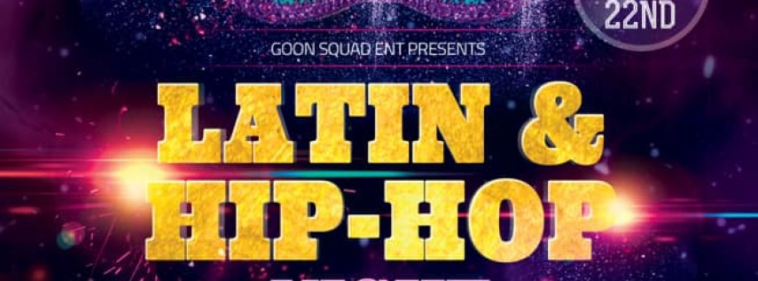 Latin & Hip-Hop Night w/DJ Insanity