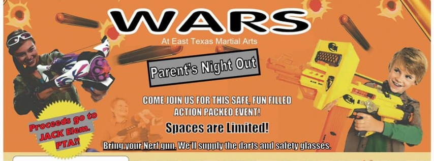 Jack Nerf Wars @ East TX Martial Arts