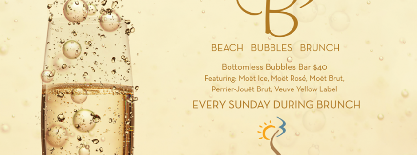 B3: Beach, Bubbles & Brunch