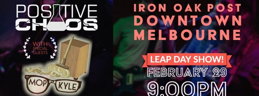 Leap Day Show at Iron Oak Post
