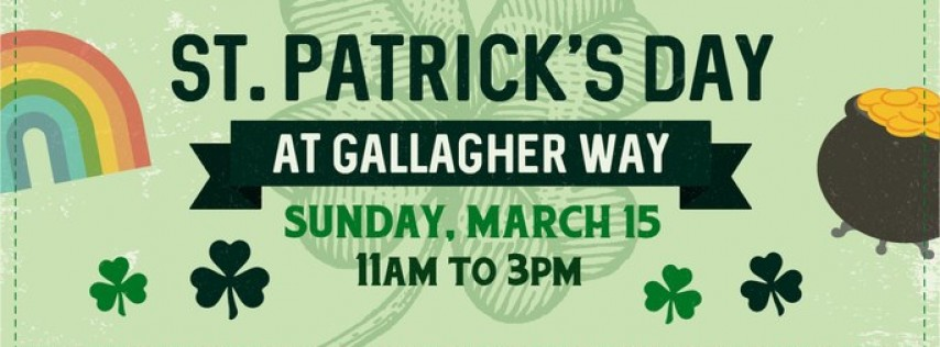 St. Patrick's Day at Gallagher Way