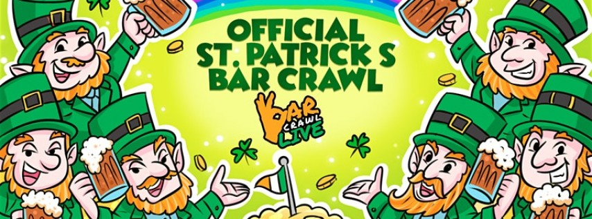 Official St. Patrick's Bar Crawl | Detroit, MI - Bar Crawl Live