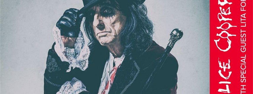 Alice Cooper at the Hall Live!