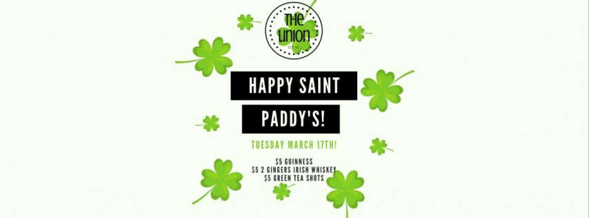 Saint Paddy's Party!