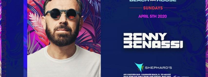Benny Benassi at Beach House Sundays 2020