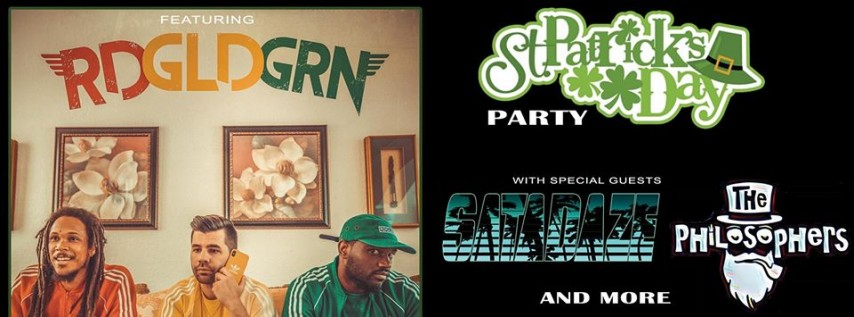 St. Patricks Day party featuring RDGLDGRN and more