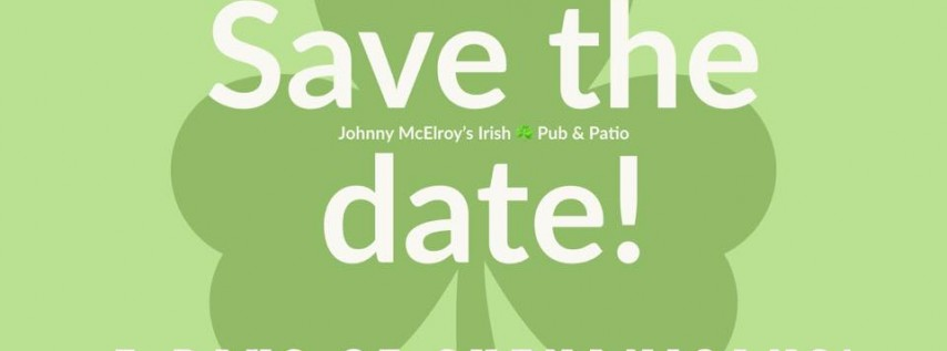 St. Patrick's Day Weekend Bash