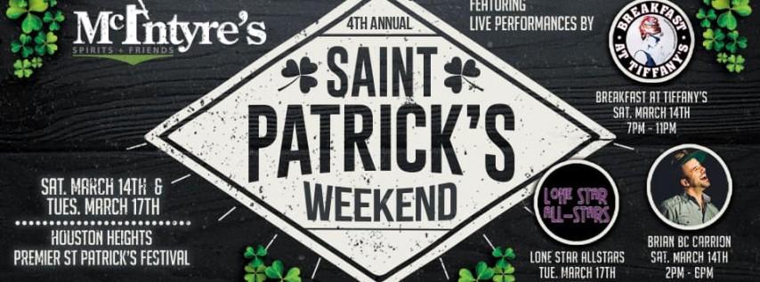 4th Annual St Patrick's Festival