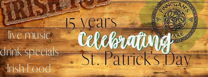Finnegan's Wake 15th St. Patrick's Celebration