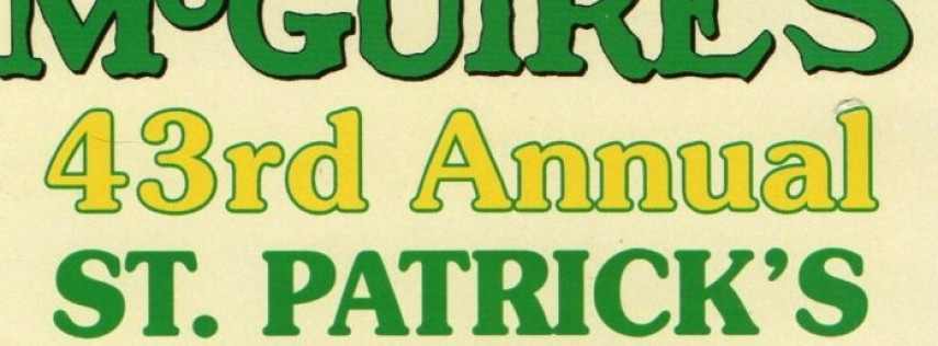 McGuire's 2020 43rd Annual St. Patrick's Day 5k Run