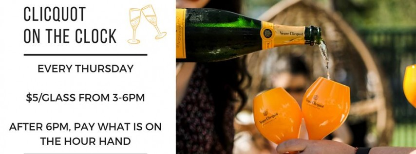 Clicquot on the Clock