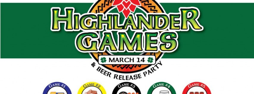Highlander Games & Beer Release Party | St. Patrick's Day